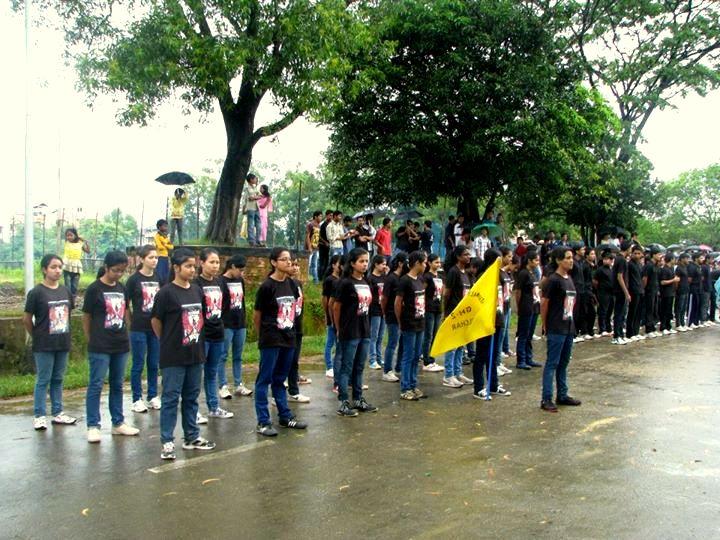 Girls hostel Parade at NITS