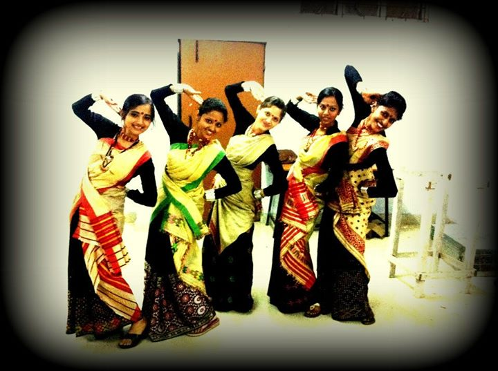 Bihu at NITS by girls
